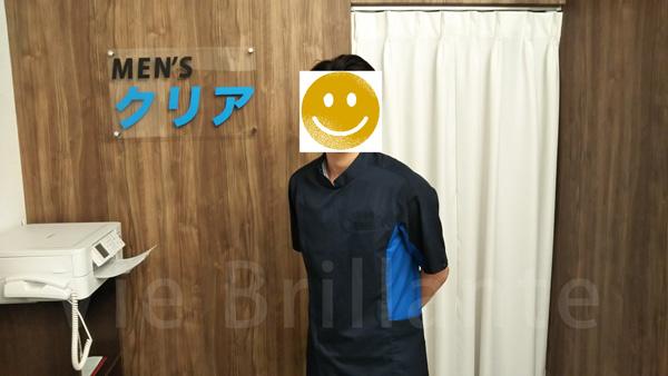 メンズクリアの店長