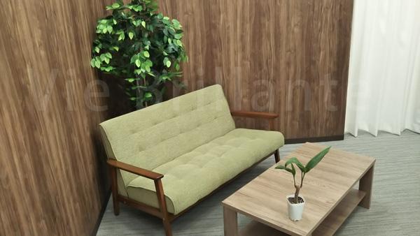 メンズクリアの待合室
