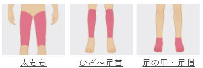 メンズリゼの脚全体脱毛